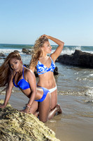 Gina & Kiki Beach Shoot Surreal Beauty Publication